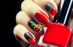 calabaza nail art