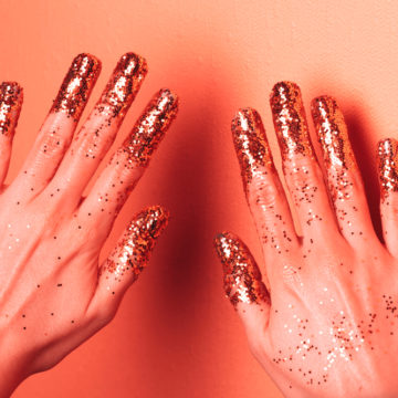 Ideas de manicura con Living Coral, el color tendencia de 2019