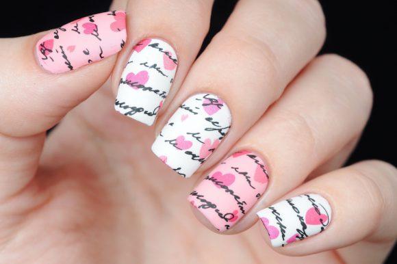 Ideas de manicura San Valentín