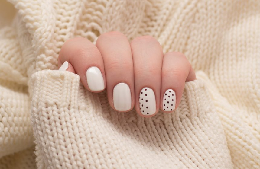 Manicuras en color blanco