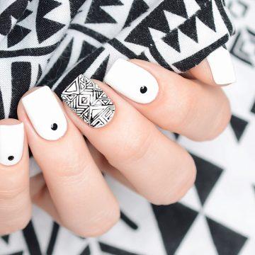 Una tendencia en alza: manicuras en color blanco