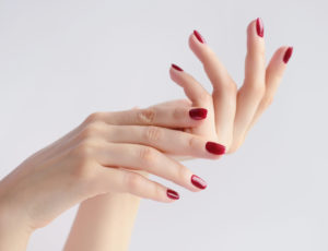 manicura red obsession