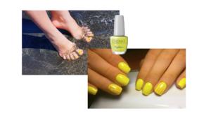 Manicuras en amarillo