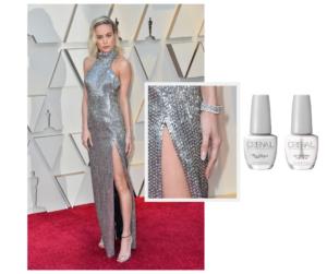 Manicura de alfombra roja: Brie Larson