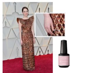 Manicura de alfombra roja: Emma Stone