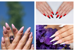 Manicura stiletto